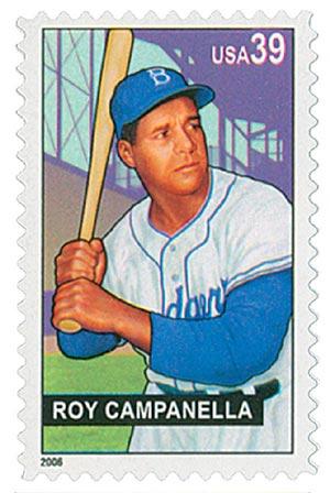 2006 39c Baseball Sluggers: Roy Campanella