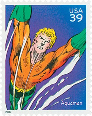 2006 39c DC Comics Super Heroes: Aquaman