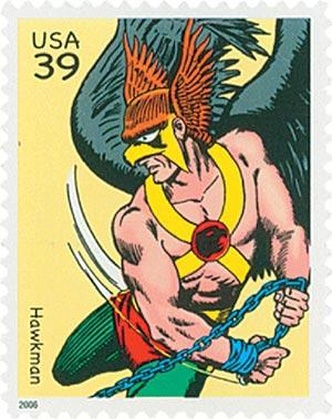 2006 39c DC Comics Super Heroes: Hawkman