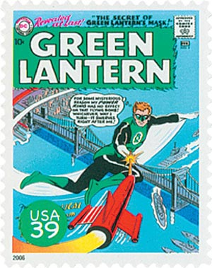 2006 39c DC Comics Super Heroes: Cover of Green Lantern