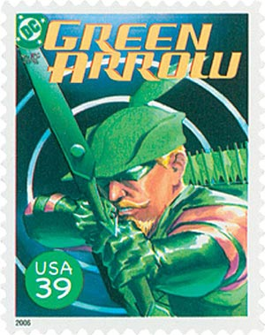 2006 39c DC Comics Super Heroes: Cover of Green Arrow