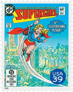 2006 39c DC Comics Super Heroes: Cover of Supergirl
