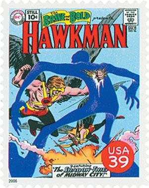2006 39c DC Comics Hawkman