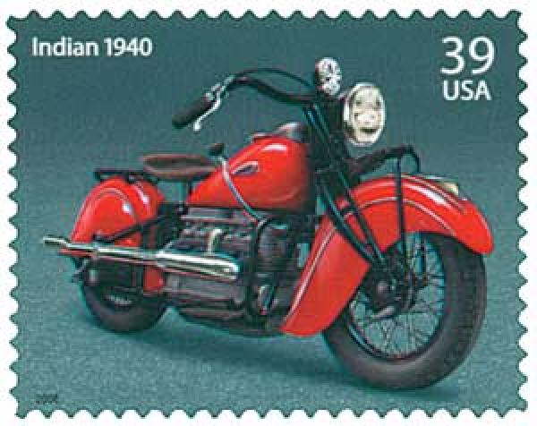 2006 39c Motorcycle-1940 Indian Four