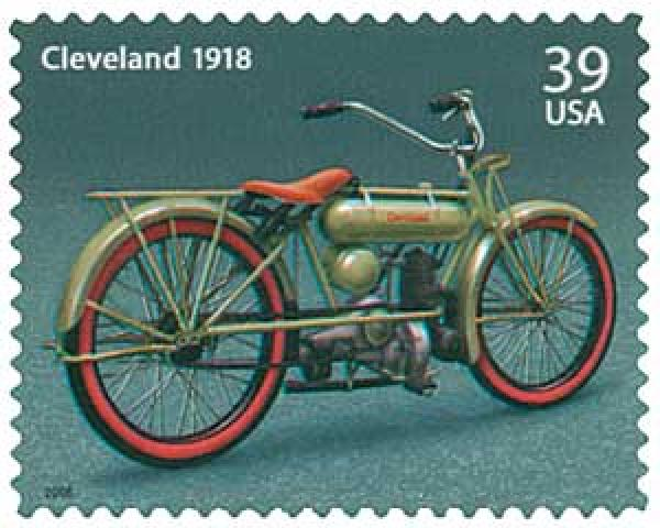 2006 39c American Motorcycles: Cleveland 1918