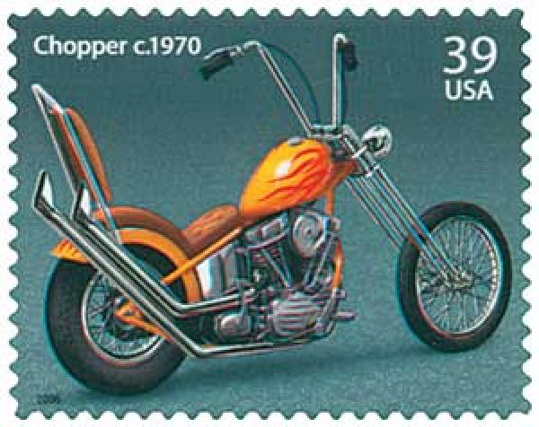2006 39c American Motorcycles: Chopper c.1970