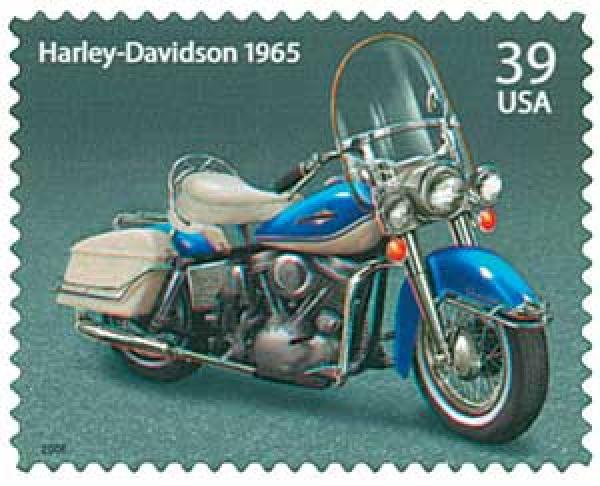 2006 39c Motorcycle-1965 Harley-Davidson