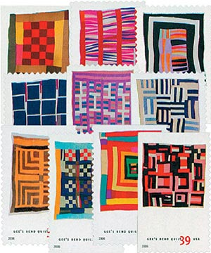 2006 39c Quilts of Gees Bend
