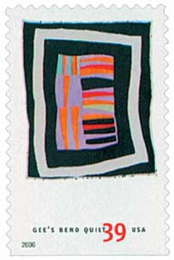 2006 39c Quilts of Gees Bend: Medallion