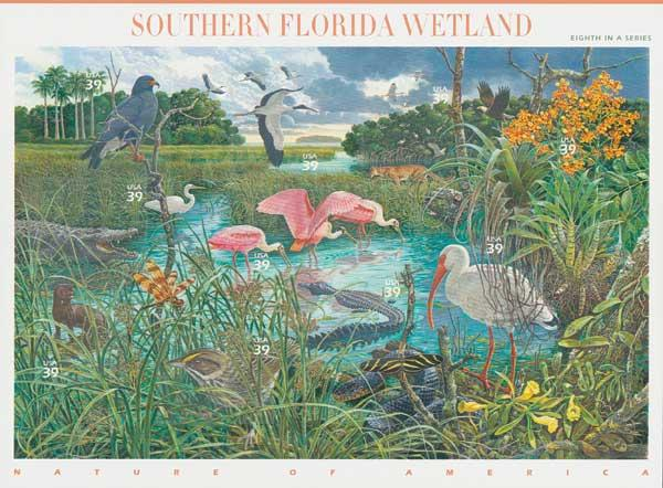 2006 39c Nature of America: Southern Florida Wetland