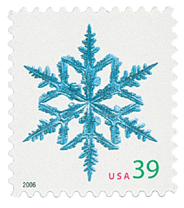 2006 39c Contemporary Christmas: Spindly Arms Snowflake