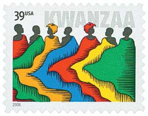 2006 39c Kwanzaa