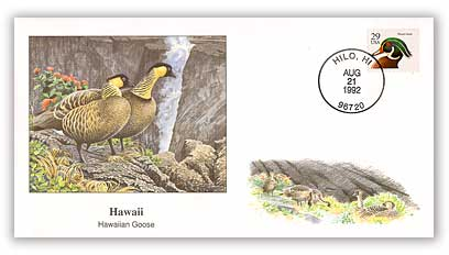 1992 Hawaii Hawaiian Goose