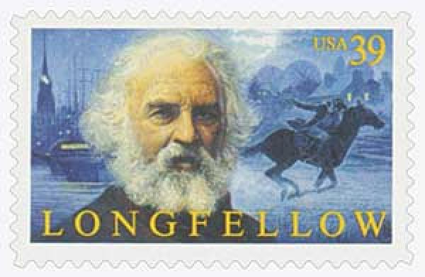 2007 39c Henry Wadsworth Longfellow
