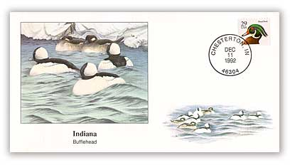 1992 Indiana Bufflehead Cover