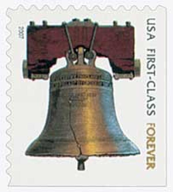 2007 First-Class Forever Stamp - non-denominated, self-adhesive (Avery Dennison)