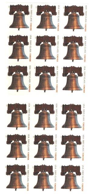 2007 41c non-den. Forever Stamp ATM Bklt