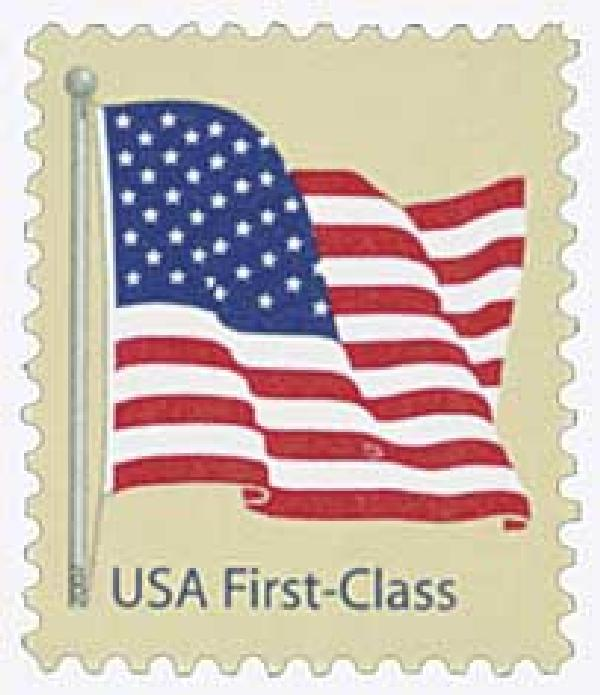 2007 41c American Flag, 11 1/4 perf, from pane of 100
