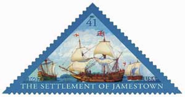 2007 41c Settlement of Jamestown