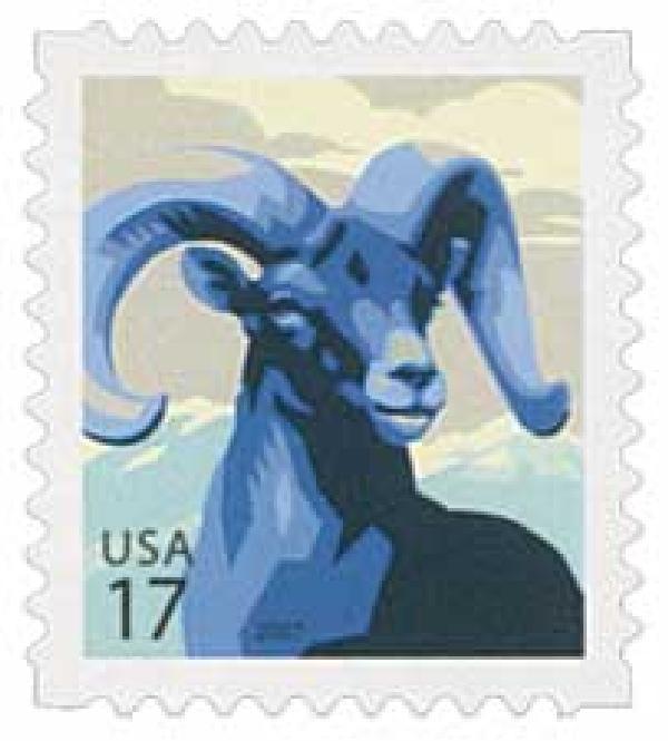 2007 17c Bighorn Sheep