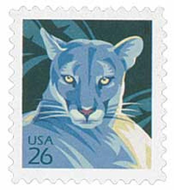 2007 26c Florida Panther, from sheet of 20