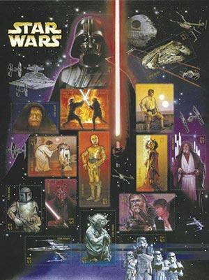2007 41c Star Wars
