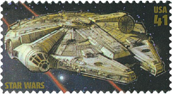 2007 41c Star Wars: Millennium Falcon