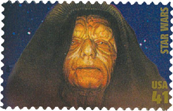 2007 41c Star Wars: Emperor Palpatine