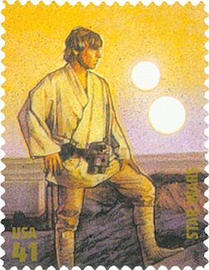 2007 41c Star Wars: Luke Skywalker