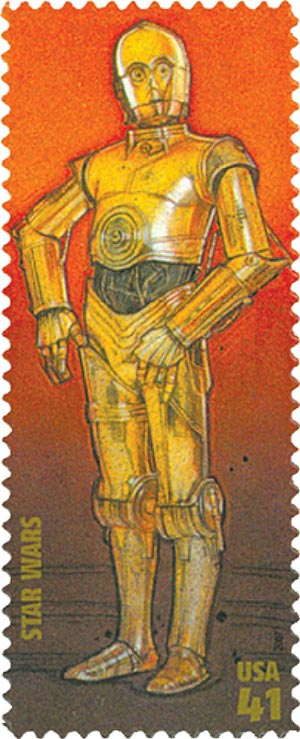 2007 41c Star Wars: C-3PO