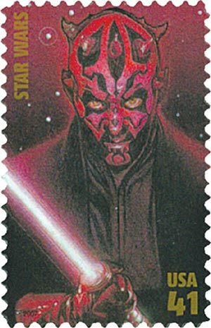 2007 41c Star Wars: Darth Maul