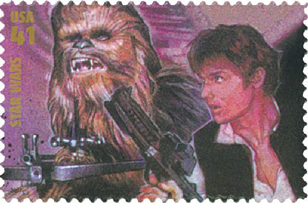 2007 41c Star Wars: Han Solo