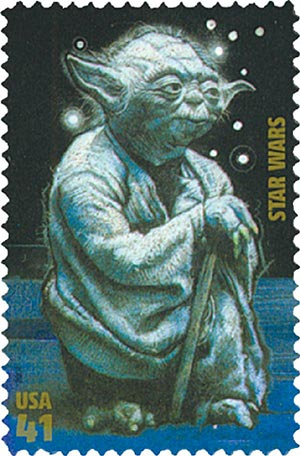 2007 41c Star Wars: Yoda