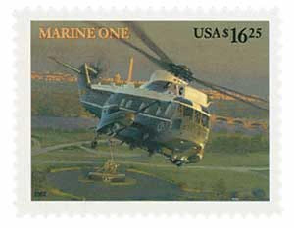 2007 $16.25 Marine One, Express Mail