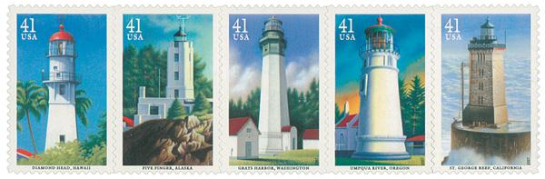 2007 41c Pacific Lighthouses