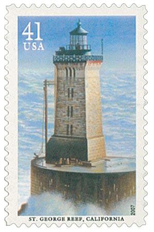 2007 41c Lighthouse-George Reef