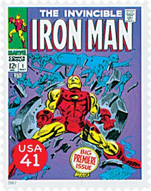 2007 41c Marvel Comic Super Heroes: The Invincible Iron Man