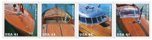 2007 41c Vintage Mahogany Speedboats