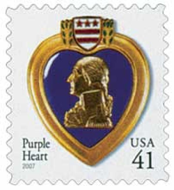 2007 41c Purple Heart