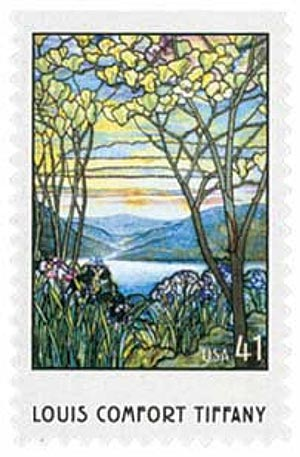 2007 41c Louis Comfort Tiffany