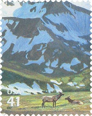 2007 42c Alpine Tundra: Elk FDC