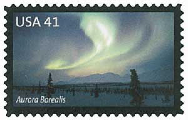 2007 41c Polar Lights: Aurora Borealis