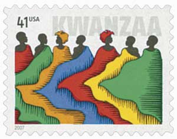 2007 41c Kwanzaa