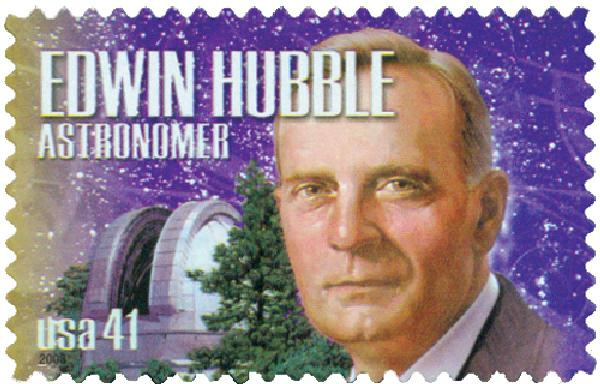 2008 41c American Scientists: Edwin Hubble