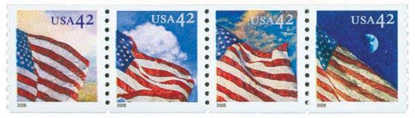 2008 42c Flags 24/7, w/a coil