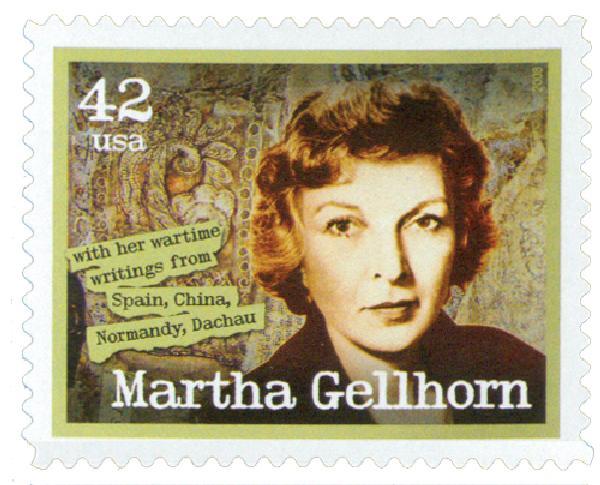 2008 42c American Journalist: Martha Gellhorn