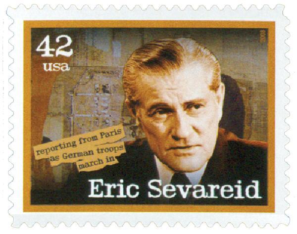 2008 42c American Journalist: Eric Sevareid