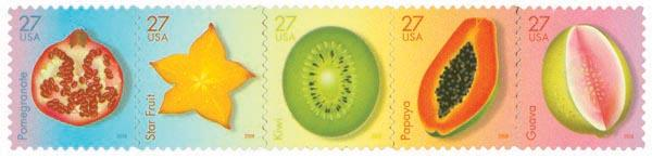 2008 27c Tropical Fruit