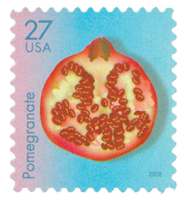 2008 27c Tropical Fruit: Pomegranate
