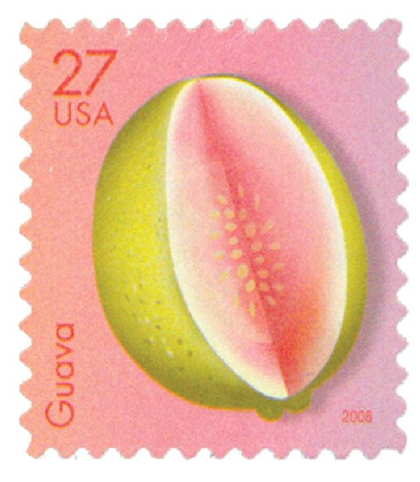 2008 27c Tropical Fruit: Guava
